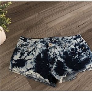 Pants - Blue tie dye shirts